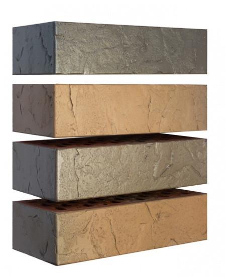 Кирпич керамический Флеш Сланец (250х120х65)