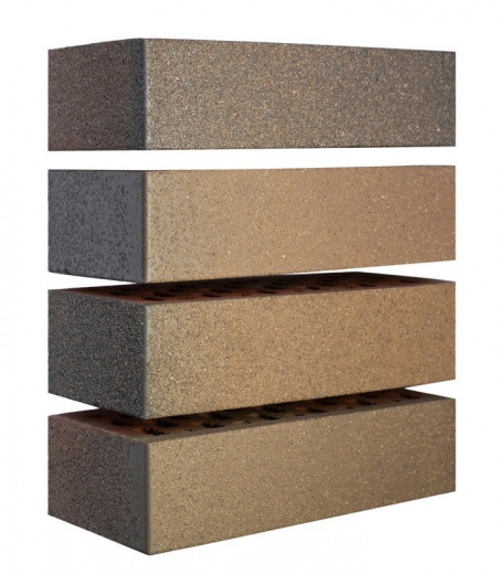 Кирпич керамический Флеш Руст с песком (250х120х65)