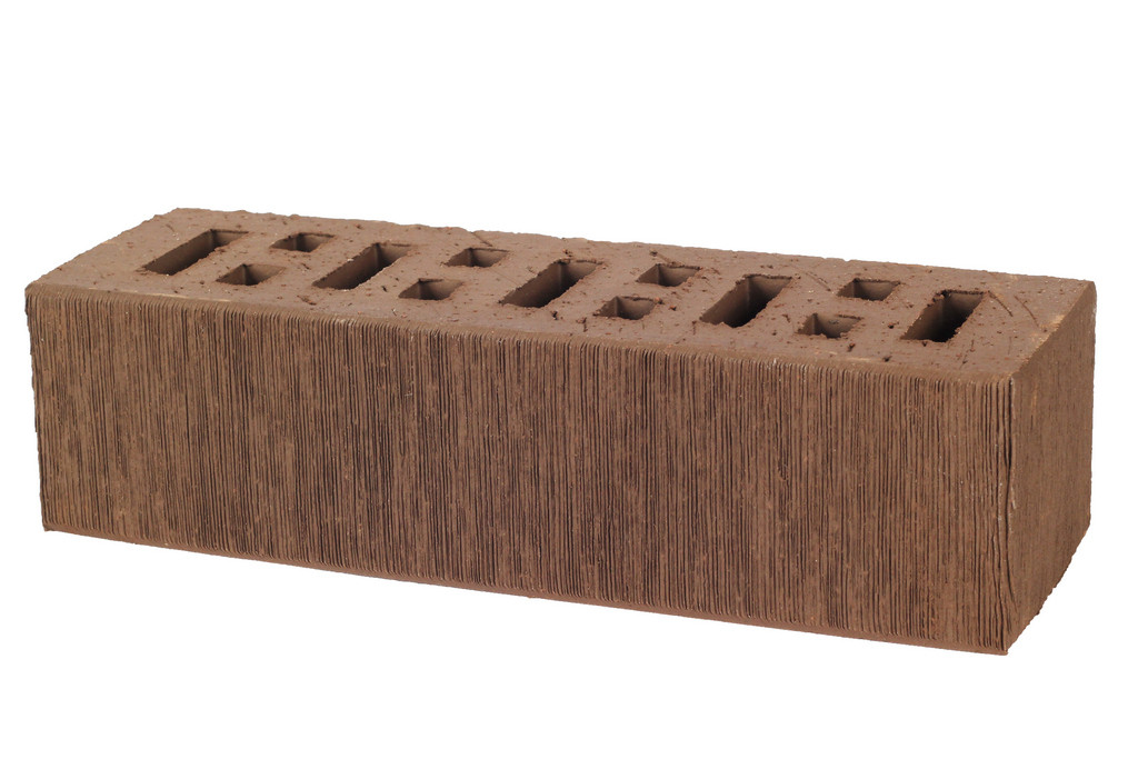 Oблицовочный кирпич пустотелый ASAIS BRUNIS, 250x85x65