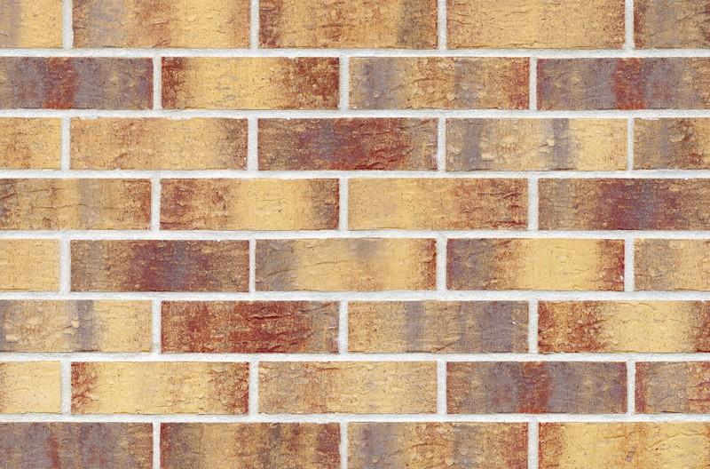 Кирпичная фасадная плитка Rainbow brick (HF15)