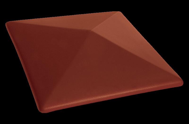 Клинкерный колпак для забора Нота цинамона (06) Note of cinnamon