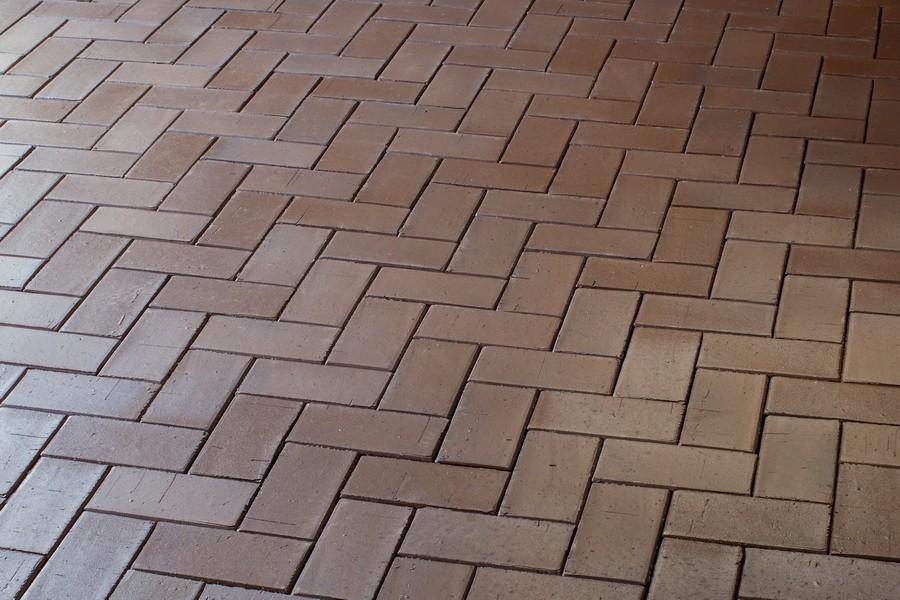 Брусчатка клинкерная Тоффи (Шоколад флеш) (200х100х52)