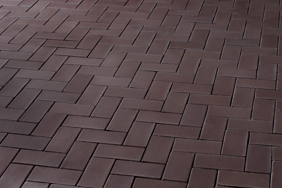 Брусчатка клинкерная Брауни (Шоколад) (200х100х52)