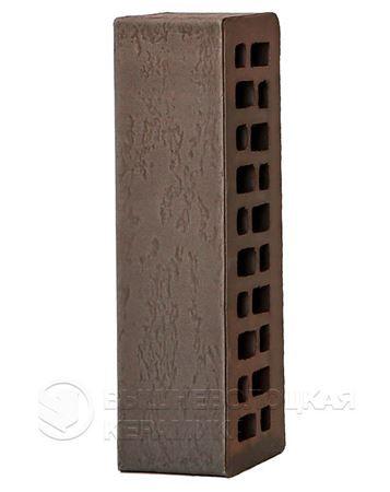 Кирпич с флеш обжигом Графит старая стена 0,7NF