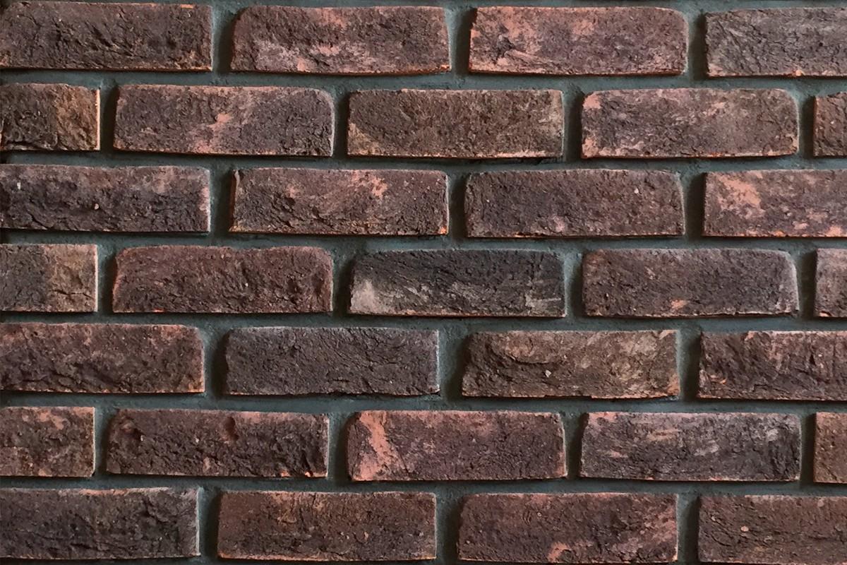 Кирпич полнотелый Тиммерман - Красный/черный