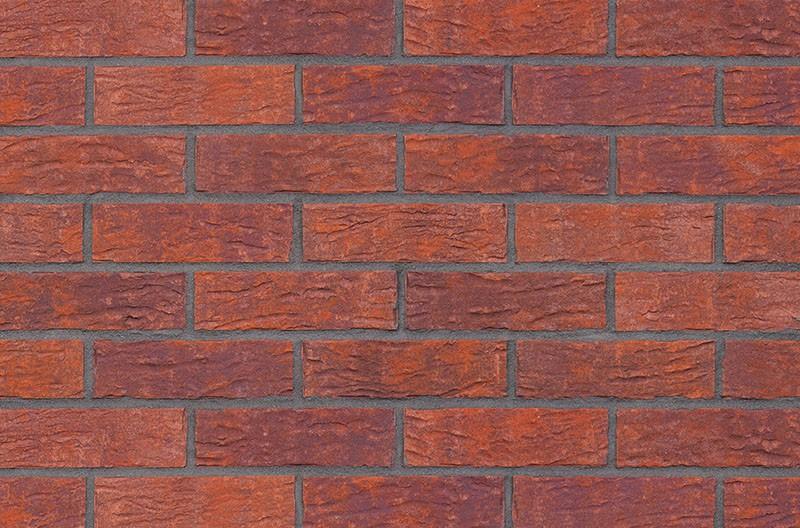 Кирпичная фасадная плитка Deep purple (HF08)