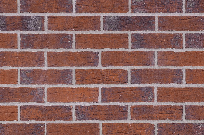 Кирпичная фасадная плитка Red hot (HF33)