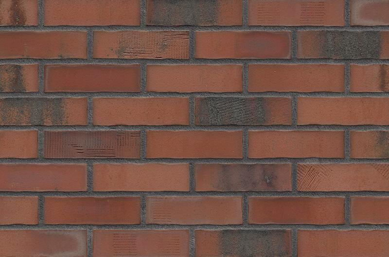 Кирпичная фасадная плитка Old Factory (HF50)
