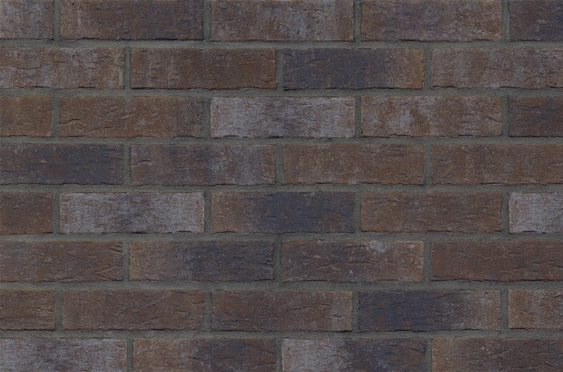 Кирпичная фасадная плитка Dark fortress (HF19)
