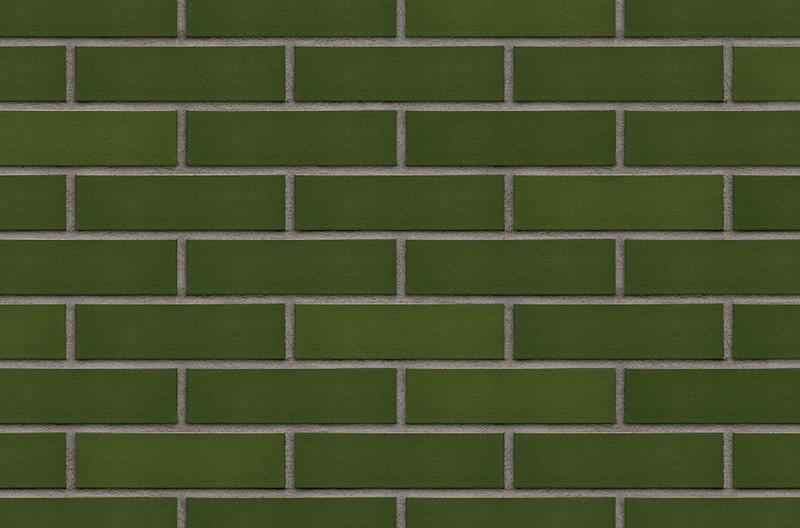Кирпичная глазурованная клинкерная плитка Green valley (24) Зеленая долина Новинка