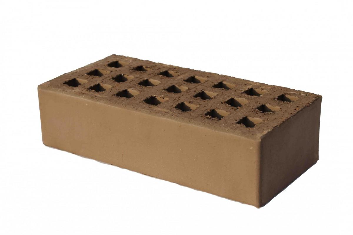 Кирпич рядовой пустотелый одинарный шоколад